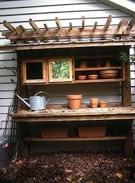 Free Wooden Potting Bench Plans by 25 Best Potting Bench Plans Ideas On Pinterest Potting Station
