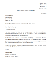 31 hr welcome letter template free sample example format