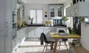 handleless matt grey kitchen with pearl grey kitchen base units
