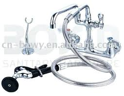 commercial sink faucets with sprayer commercial faucet sprayer commercial chrome rinse kitchen faucet