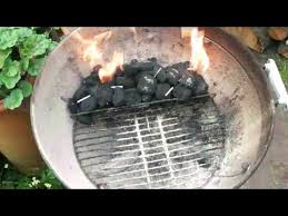 how to light charcoal how to light a charcoal bbq youtube