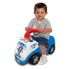 toddler ride on car amazon com kiddieland disney mickey mouse police drive along ride