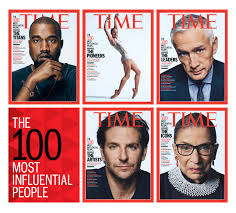 time magazine names the 100 most influential people in the world