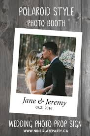 wedding photo booth prop signs photo booth event rental artistic
