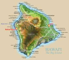 map of hawaii big island big island activity guide hawaii island bed breakfasts