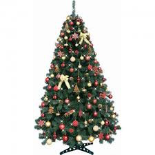 7ft christmas tree 7ft christmas tree gold with 120 decorations 120 lights