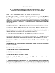 General Power Of Attorney Philippines ra 8048 coconut preservation act repeal crimes