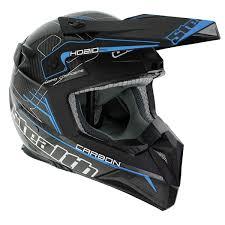 blue motocross helmet pro carbon kevlar mx helmet hd210 sonic blue