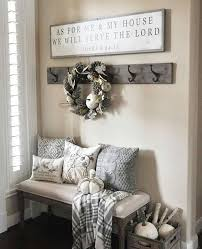 Cool Entryways Entry Bench And Decor Mud Room As For Me And My House We Will
