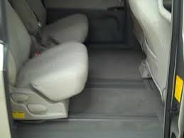 Toyota Sienna Captains Chairs 2011 Toyota Sienna Xle 2nd U0026 3rd Row Seat Demonstration Jon