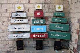 limited time christmas wishes tree signs by andrea