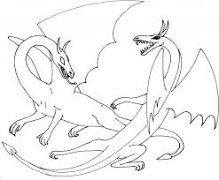 dragon coloring sheet awesome with image of dragon coloring 42 7371