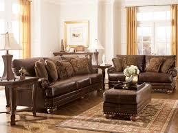 interior impressive living room color black and cream leather