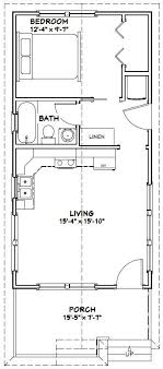 16x32 tiny house 511 sq ft pdf floor plan model 1w tiny
