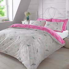 Pink Duvets Pink And Grey Duvet Cover Home Design Ideas