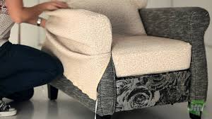Qvc Recliner Covers with How To Put A Recliner Chair Cover Youtube