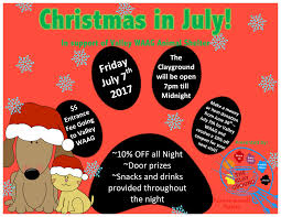 christmas in july at the clayground wolfville july 7 2017 7pm