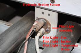 do all furnaces have a pilot light hydronic system polit light not lighting