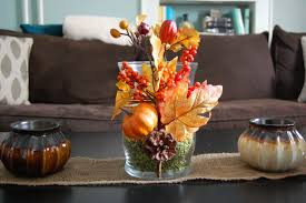 home made fall decorations set the table fall inspiration and tips borrowed blue decor
