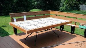 replace glass patio table top with wood need ideas for replacement patio table top outdoor table top