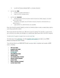 Decline Letter To Bid Cover Letter For Awesome Sle Cover Letter For Project
