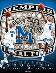 lexus of memphis ridgeway 2008 09 memphis men u0027s basketball media guide by university of