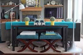 Decorating A Sofa Table How To Style A Sofa Table