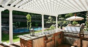 Home Design Ideas With Pool by Bar Decor White Pillars Design Ideas With Tile Flooring For