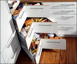 tiroir pour armoire de cuisine en coin cussine