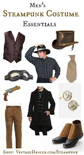men u0027s steampunk costume essentials