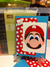 mario brothers birthday card the creative frog