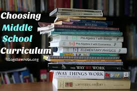 choosing middle curriculum blog she wrote