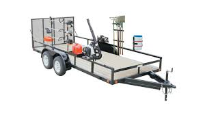 Aluminum Landscape Trailer by Accessories Green Industry Pros