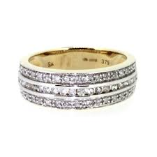 gold eternity rings 9ct yellow gold 0 34pts diamond eternity ring ramsdens