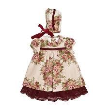 traditional spanish infant dress u0026 bonnet josé varón kids u0026chic