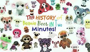 history beanie boos minutes