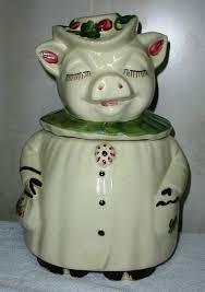 winnie pig by shawnee collector cookie jar collectibles cookie