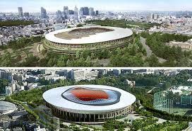 new 2020 tokyo olympic stadium design concepts revealed