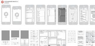 top 50 free web ui kits u0026 templates for 2018 wireframe ui kit
