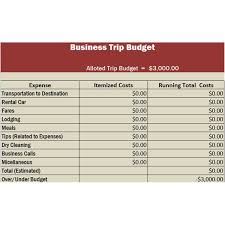 Trip Expense Tracker by Travel Business Template In Excel Free