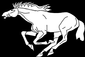 mustang horse coloring pages coloring pages