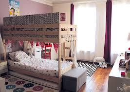 chambre garçon lit superposé séparer une chambre pour 2 enfants avec un lit superposé momes