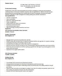 Personal Care Assistant Resume Sample by Sample Personal Assistant Resume 8 Examples In Word Pdf