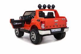 toy jeep car licensed ford ranger premium upgraded 12v kids electric jeep orange