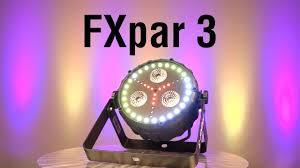 chauvet dj fxarray q5 effect light fxpar 3 by chauvet dj youtube