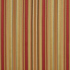 Striped Silk Fabric For Curtains Green And Gold Shiny Thin Striped Silk Satin Look