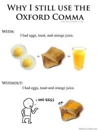 Oxford Comma Meme - 15 reasons you should definitely use the oxford comma