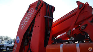 sold 1997 fassi knuckleboom f330 23 14 ton crane for on