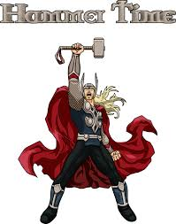 thor hammer time by crula on deviantart