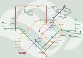 Gardens Mall Map Singapore Mrt Guide Station By Station Guide Mrt Singapore